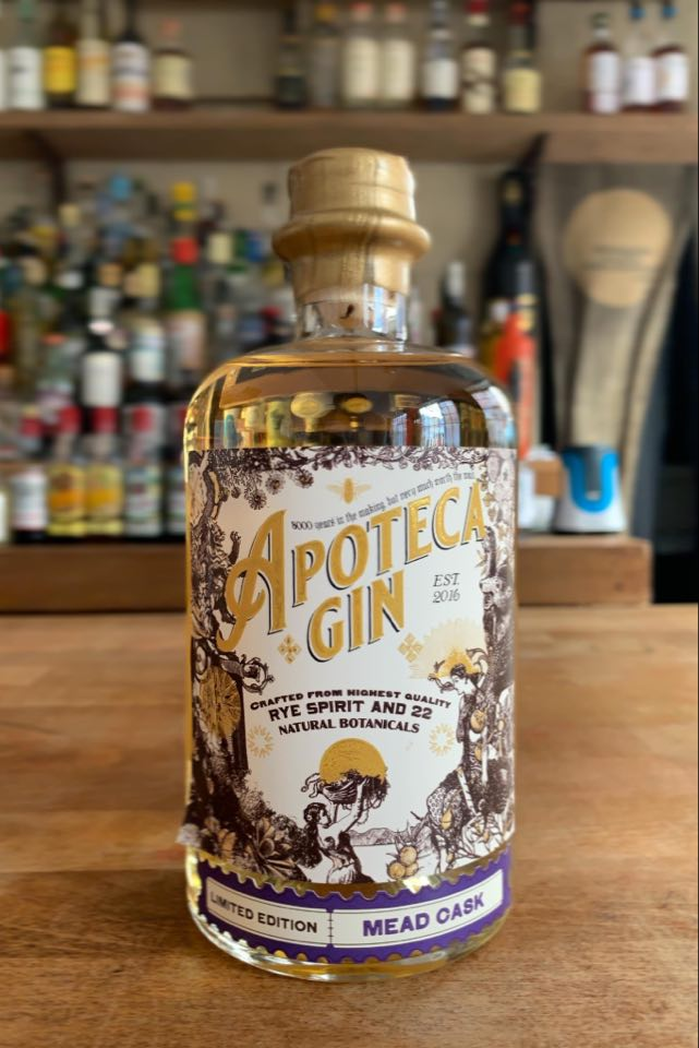 Apoteca Mead Cask finished Gin! (46%, 50cl)