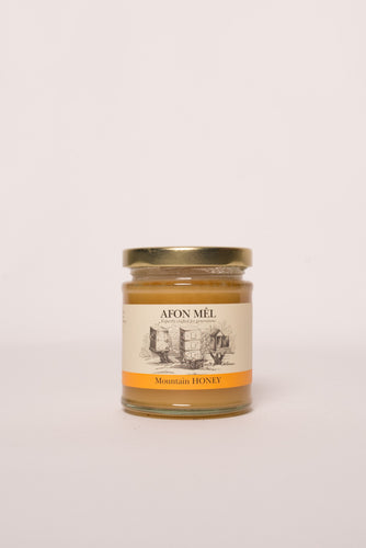 Afon Mê Mountain Honey (1/2lb Jar)