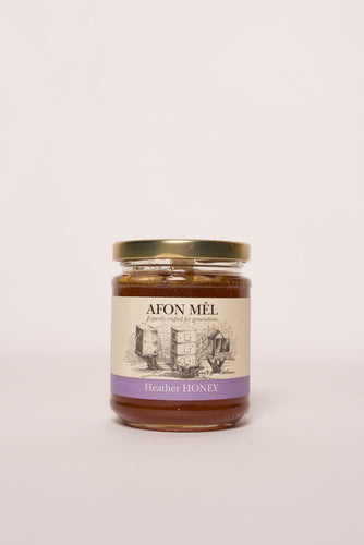 Afon Mê Heather Honey (1/2lb Jar)