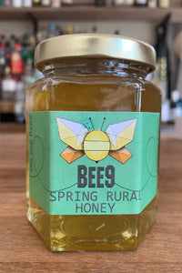 Bee9 Honey Spring Rural Honey (1/2lb Jar)