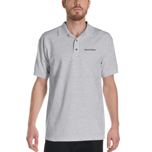 Mead Maker Embroidered Polo Shirt