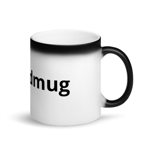 Matte Black Magic Mead Mug