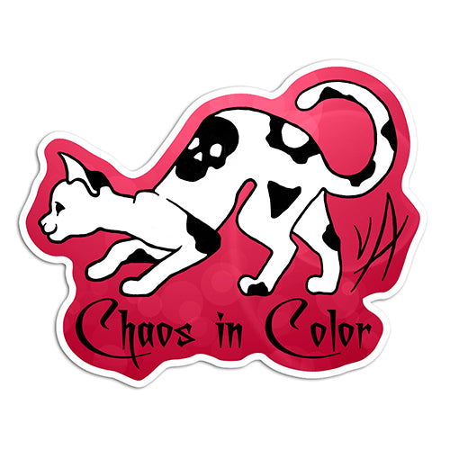 Chaos in Color Logo Sticker
