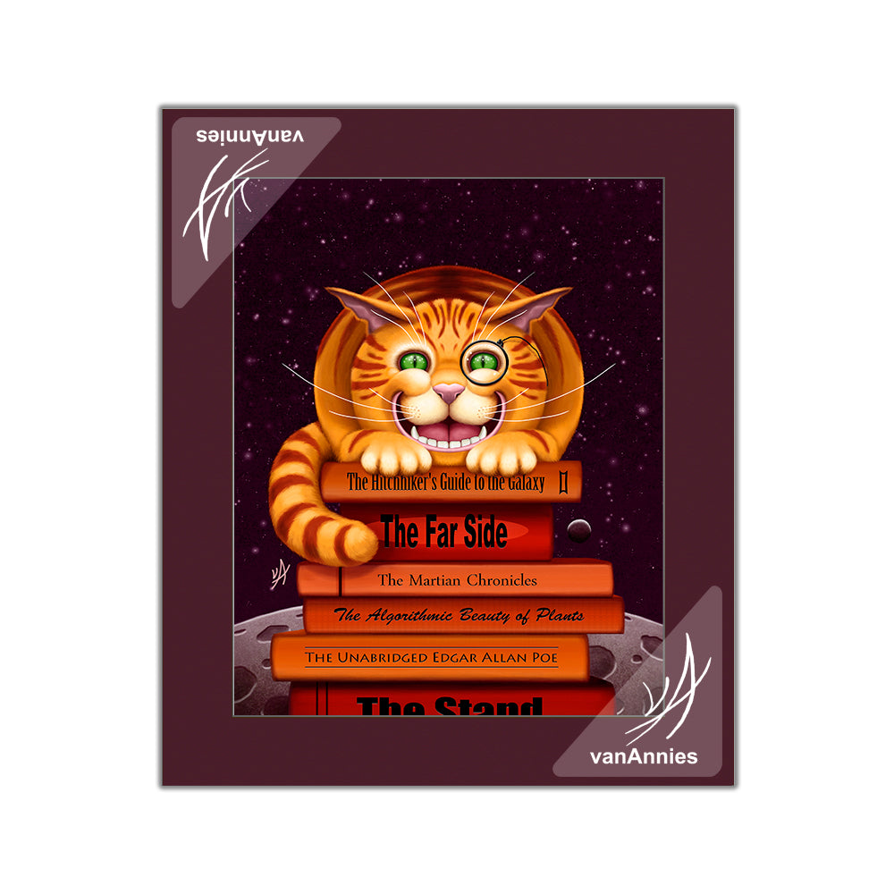 Cheshire Cat Matted Print