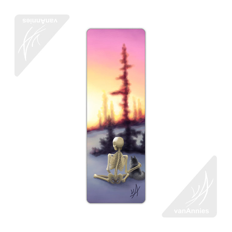 Churchill Sunset Metal Bookmark