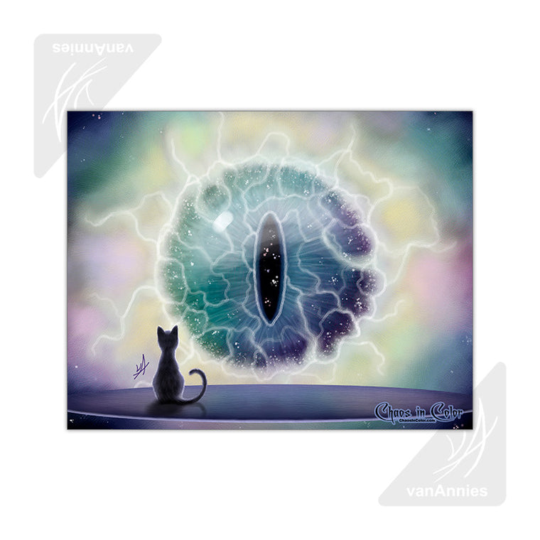Cosmos Cat's Eye 11x14 Poster