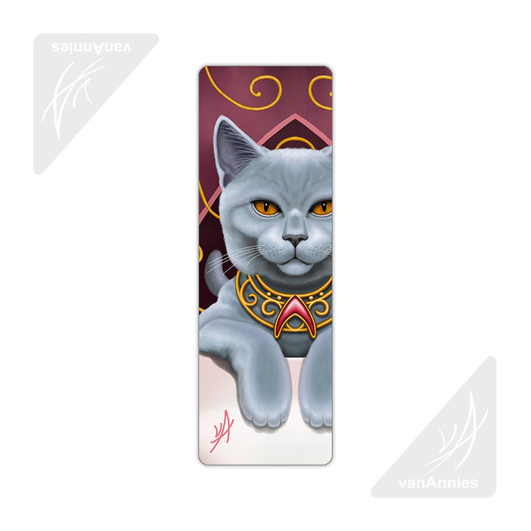Earl Grey (Cat in Teacup) Metal Bookmark