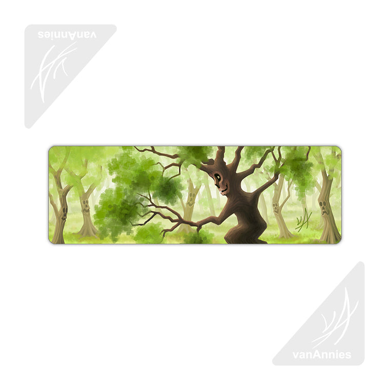 Friendly Forest Metal Bookmark