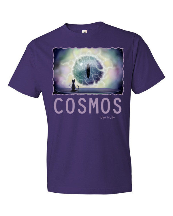Cosmos Cat Short Sleeve T-shirt