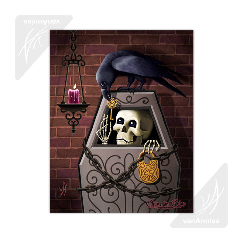 Skeleton Key 11x14 Poster