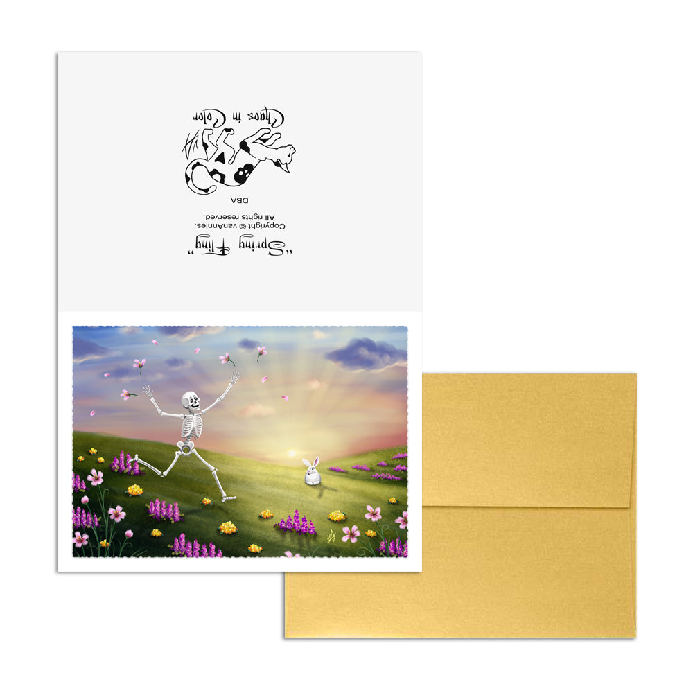 Spring Fling 5x7 Art Card Print