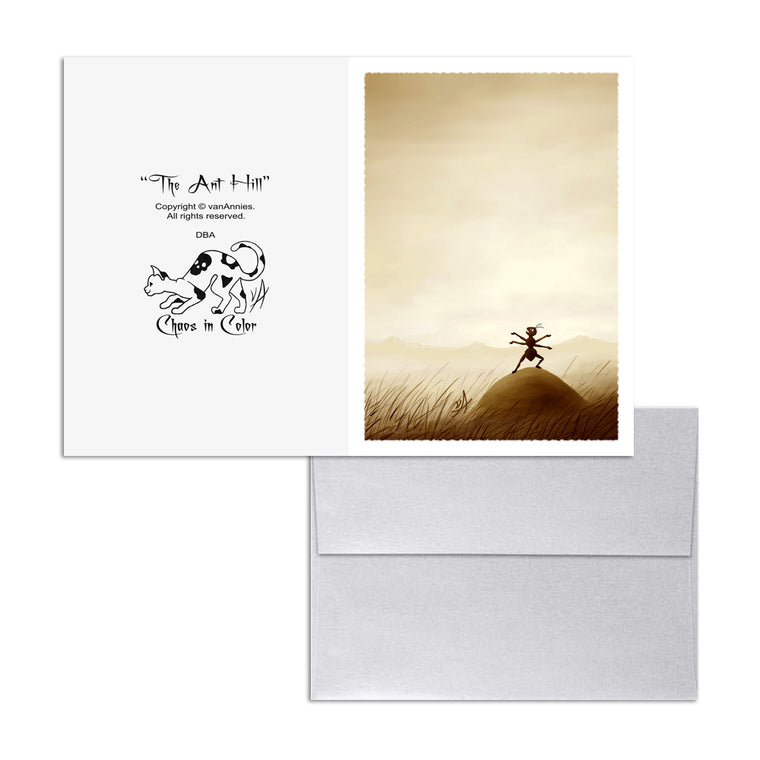 The Ant Hill 5x7 Art Card Print