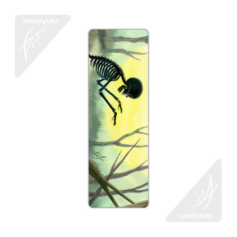 Vorspiel the Creeping Skeleton Metal Bookmark