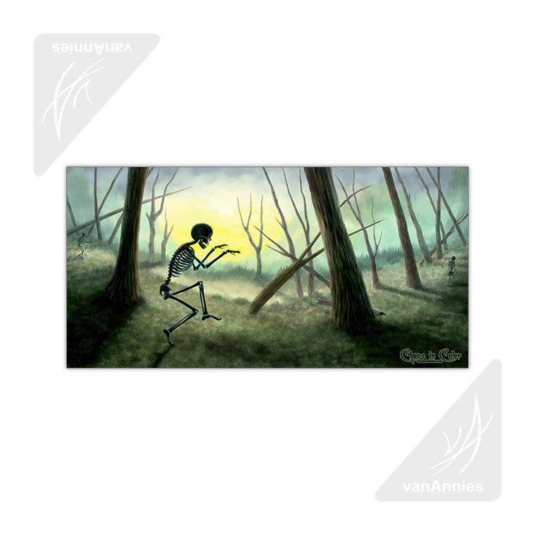Vorspiel the Creeping Skeleton 20x10 Poster