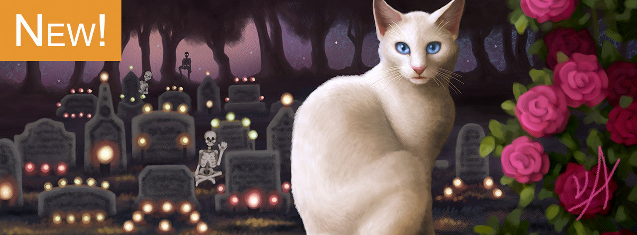 New Painting : Lucipurr