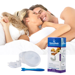 SnoreMeds Stop Snoring Mouthpiece for Women - Double Pack