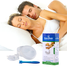 Load image into Gallery viewer, SnoreMeds Stop Snoring Mouthpiece to help couples sleep better at night