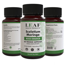 Load image into Gallery viewer, Sceletium & Moringa Capsules