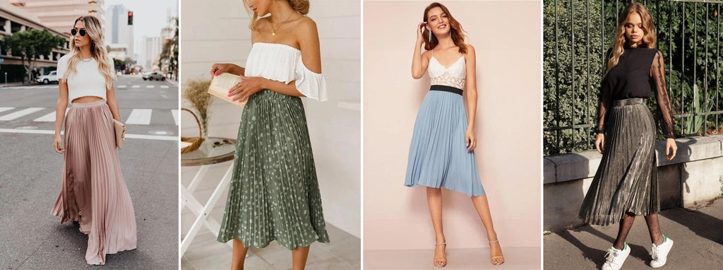 Collection of Pleated Skirts