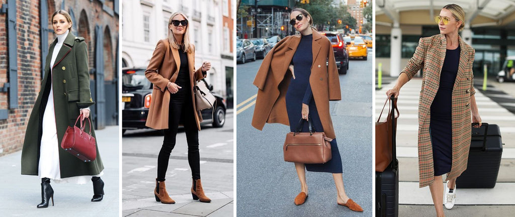 coat with long dress