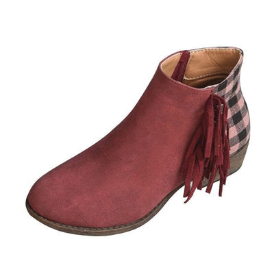 Bottines Franges Bohème Chic