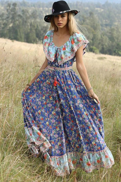 Maxi Robe Hippie Chic Belle
