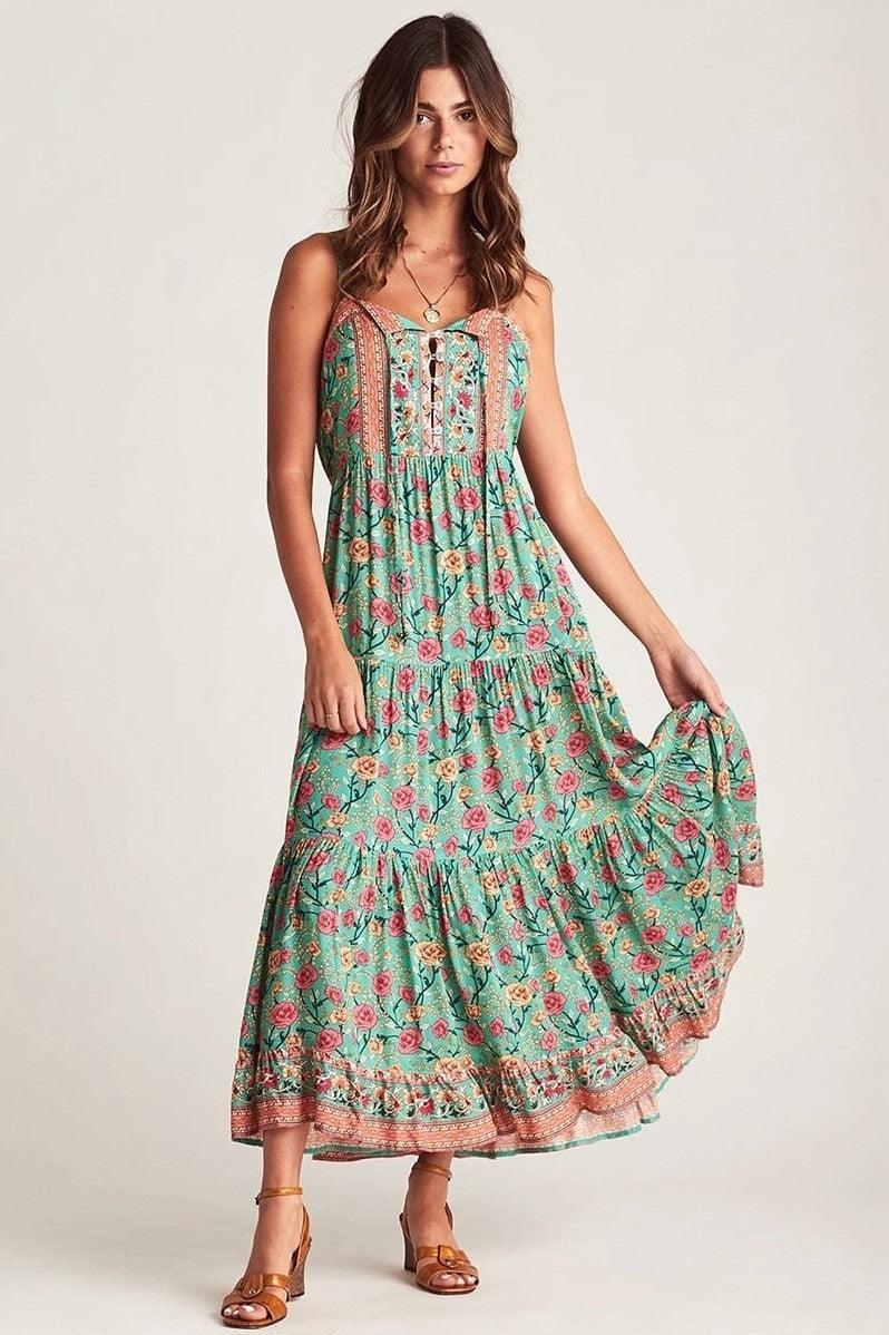 Robe Empire Fleurie Style Boho mode