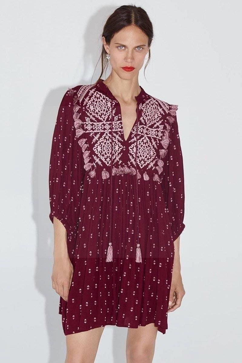 Robes Style Hippie Chic Pour Femme style