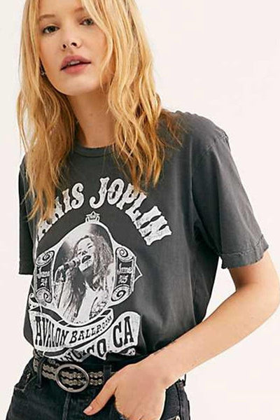 Tee Shirt Boho Rock star
