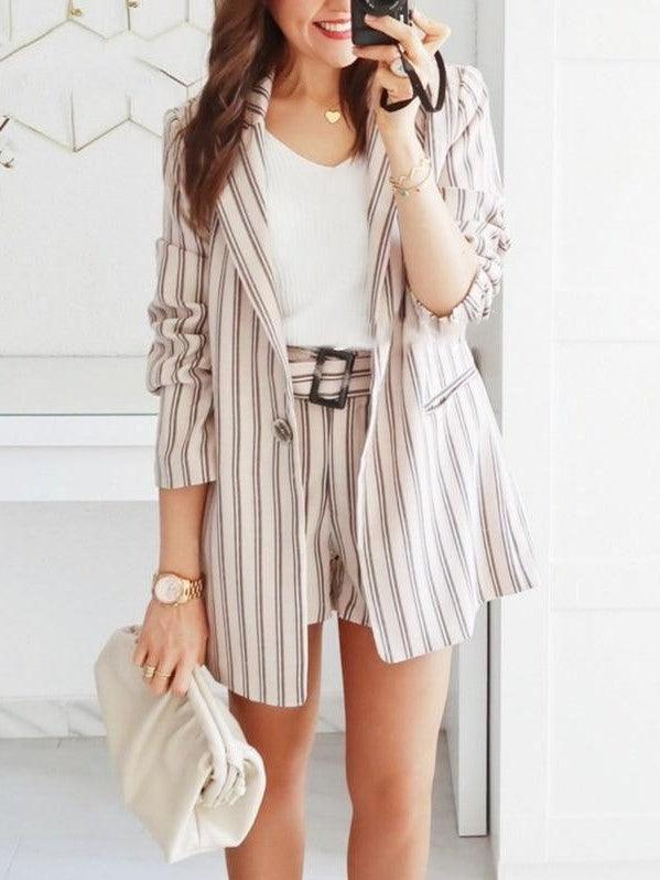 ensemble 2 pieces blazer et short 2019