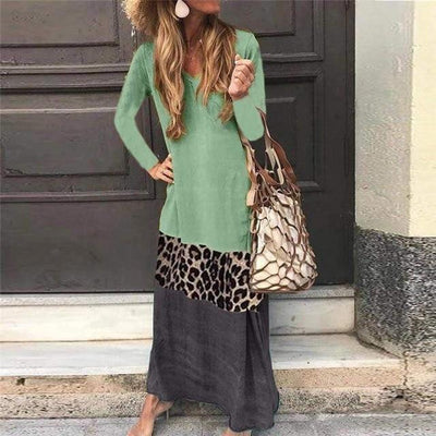 Robe Longue Hippie Chic Originale