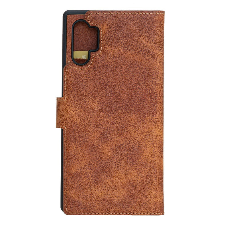Magnetic Detachable Leather Wallet Case for Samsung Note 10 Plus