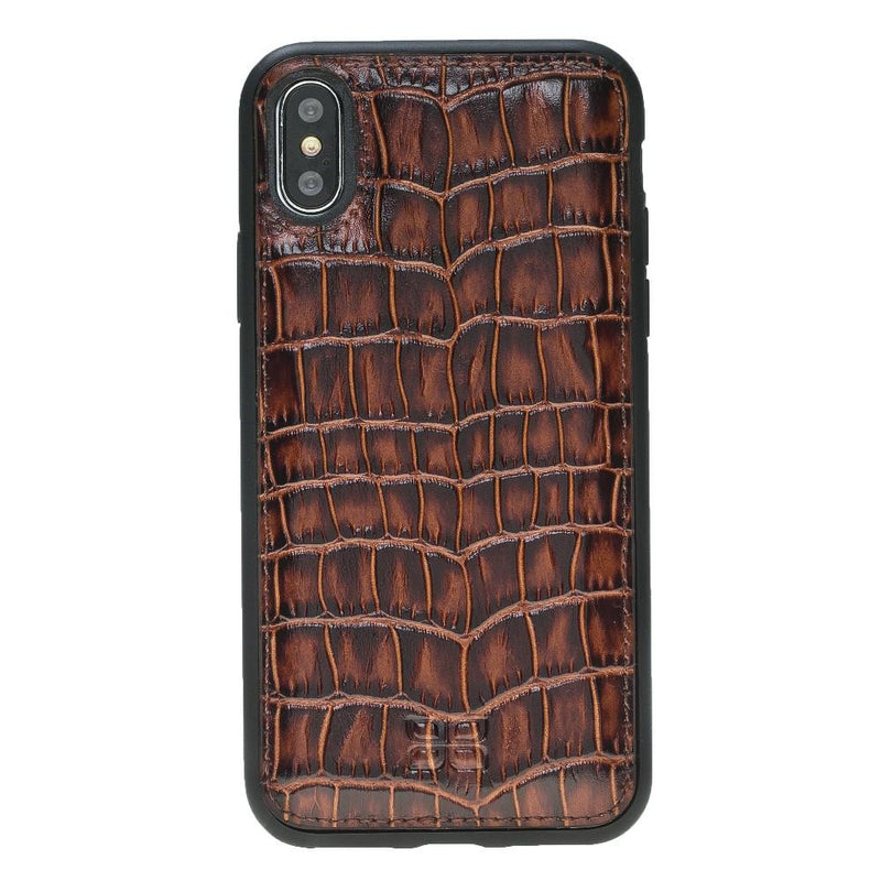Flex Cover Back Leather Case for Apple iPhone X / iPhone XS