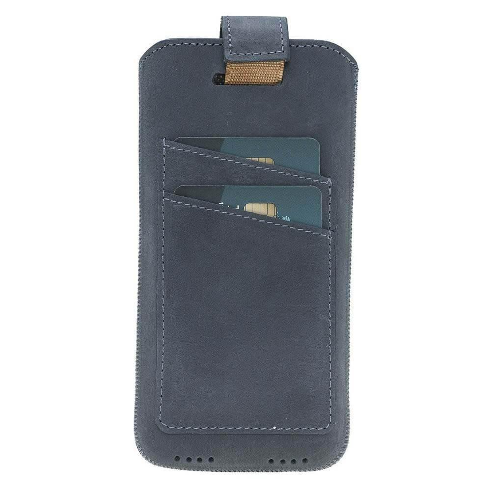 Multi Leather Case with Card Holder for iPhone 6 - 7 - 8 Plus, XS MAX and Samsung Galaxy S9 Plus, S10 Plus