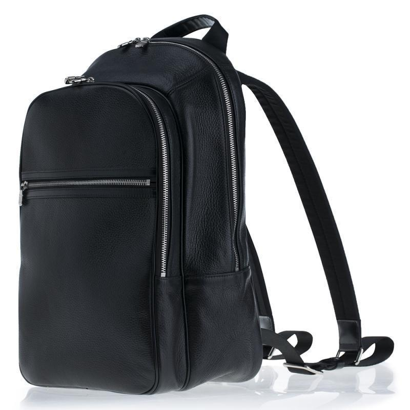 Malin Leather Laptop Backpack Bag