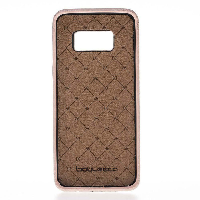 Leather Ultra Cover Snap on Back Cover for Samsung S8