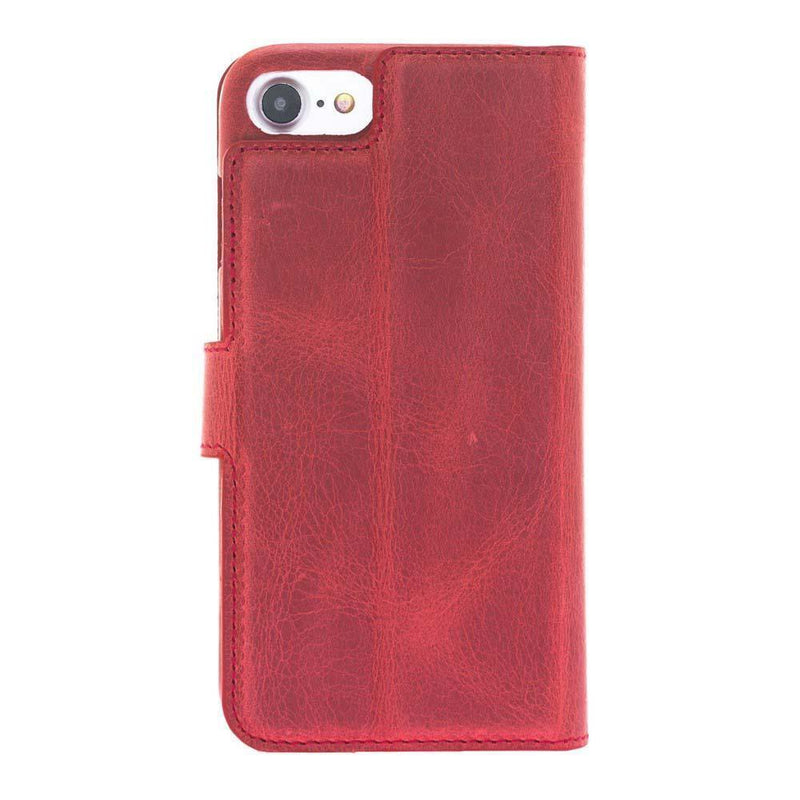 F360 Magnetic Detachable Leather Wallet Case for Apple iPhone 7 / iPhone 8