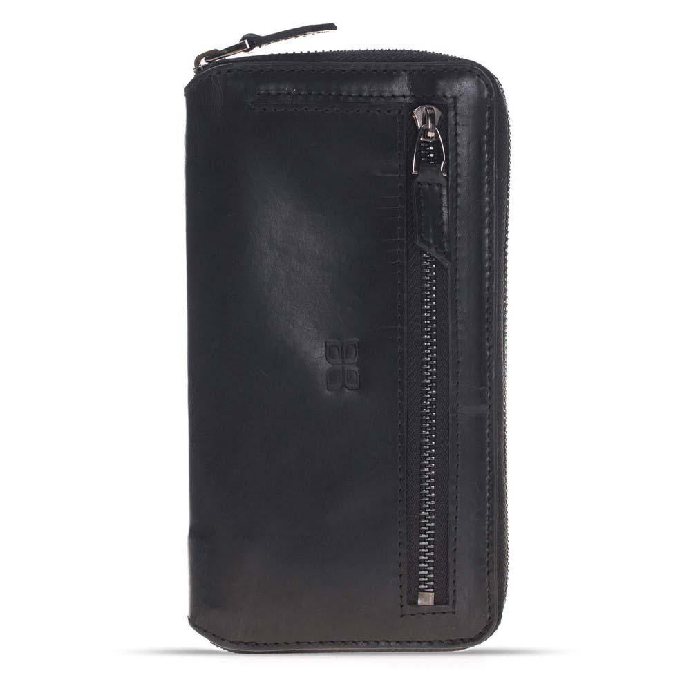 Pouch Magnetic Detachable Leather Wallet Case for Apple iPhone 7 Plus / iPhone 8 Plus
