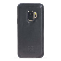 Leather Ultra Cover Snap on Back Cover for Samsung Galaxy S9