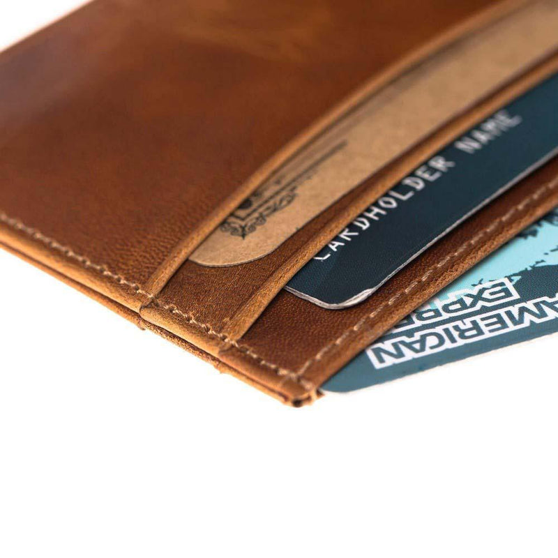 Classic Slim Leather Credit Card