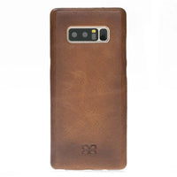 Leather Ultra Cover Snap on Back Cover for Samsung Galaxy Note 8