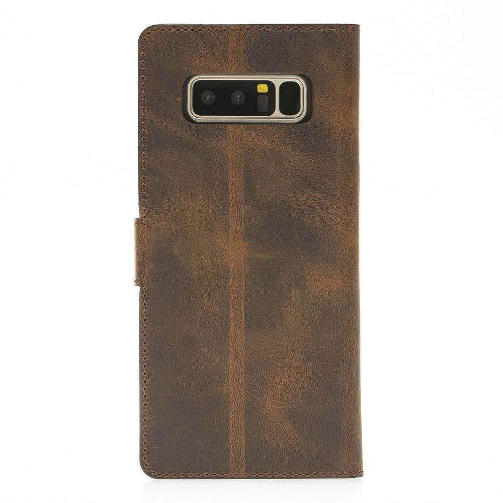 Wallet Folio Leather Case with ID slot for Samsung Galaxy Note 8