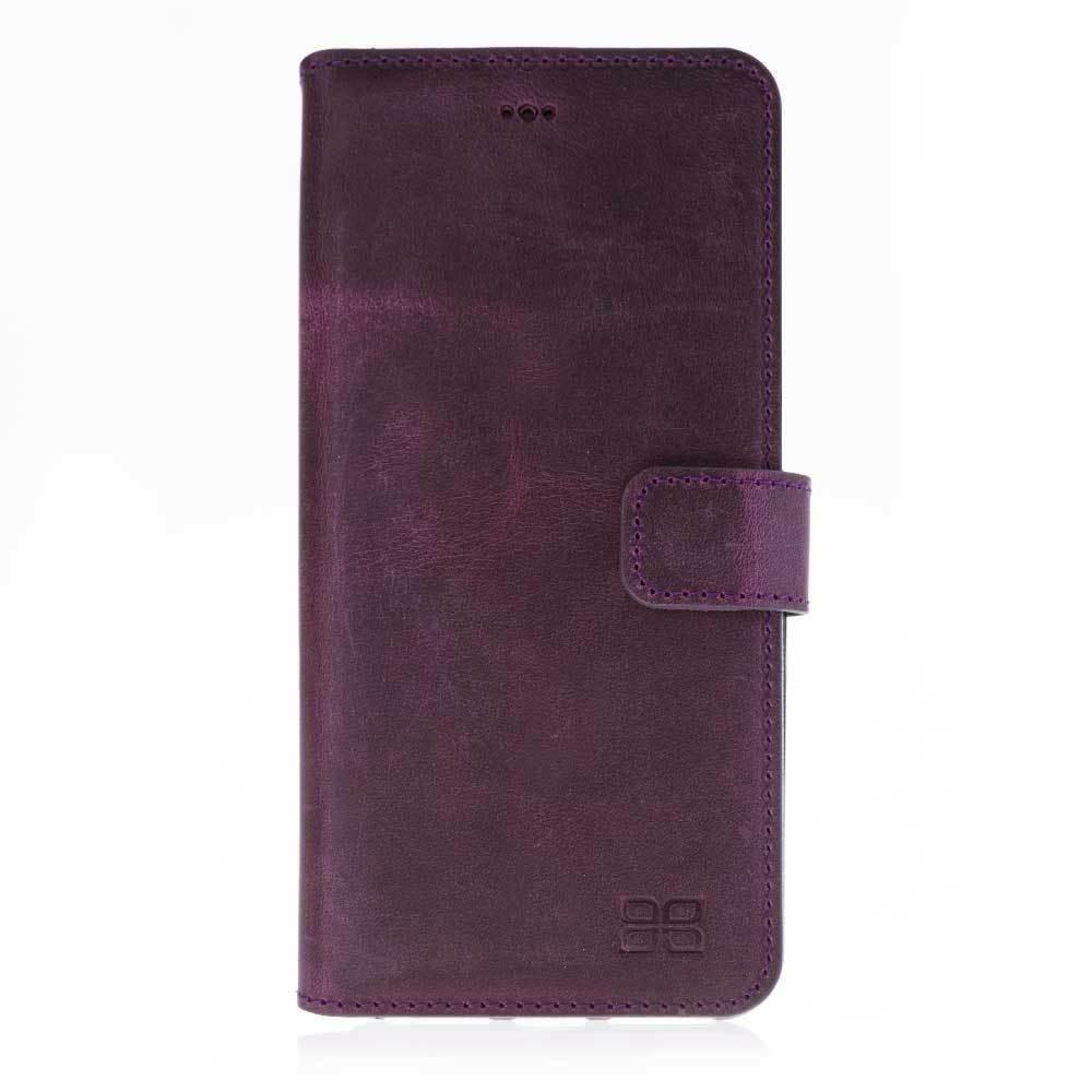 Wallet Folio Leather Case with ID slot for Apple iPhone 7 Plus / iPhone 8 Plus