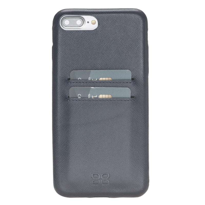 Leather Ultra Cover with Credit Card Slots for Apple iPhone 8 Plus