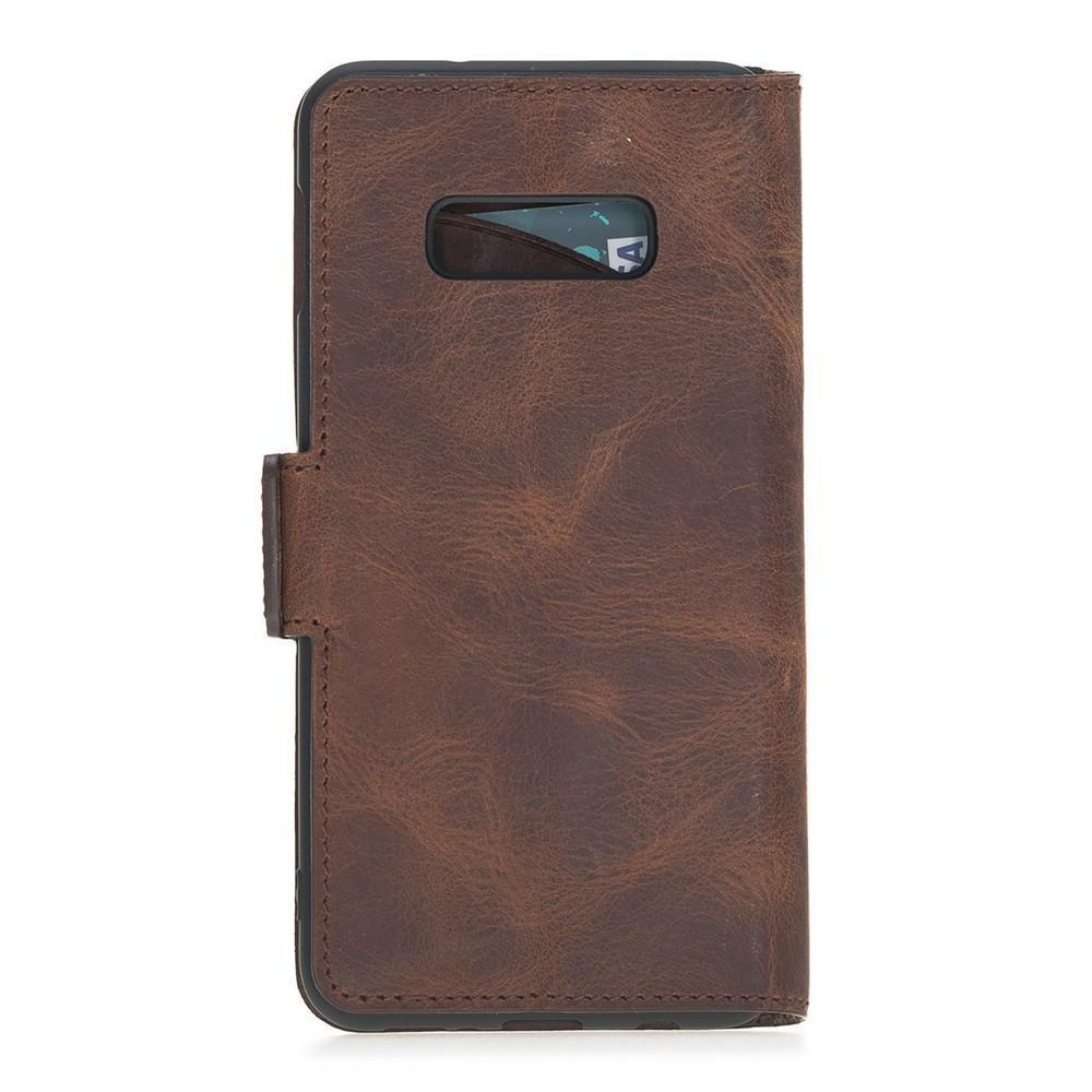 Wallet Leather Case New Edition with ID slot for Samsung Galaxy S10e Essential