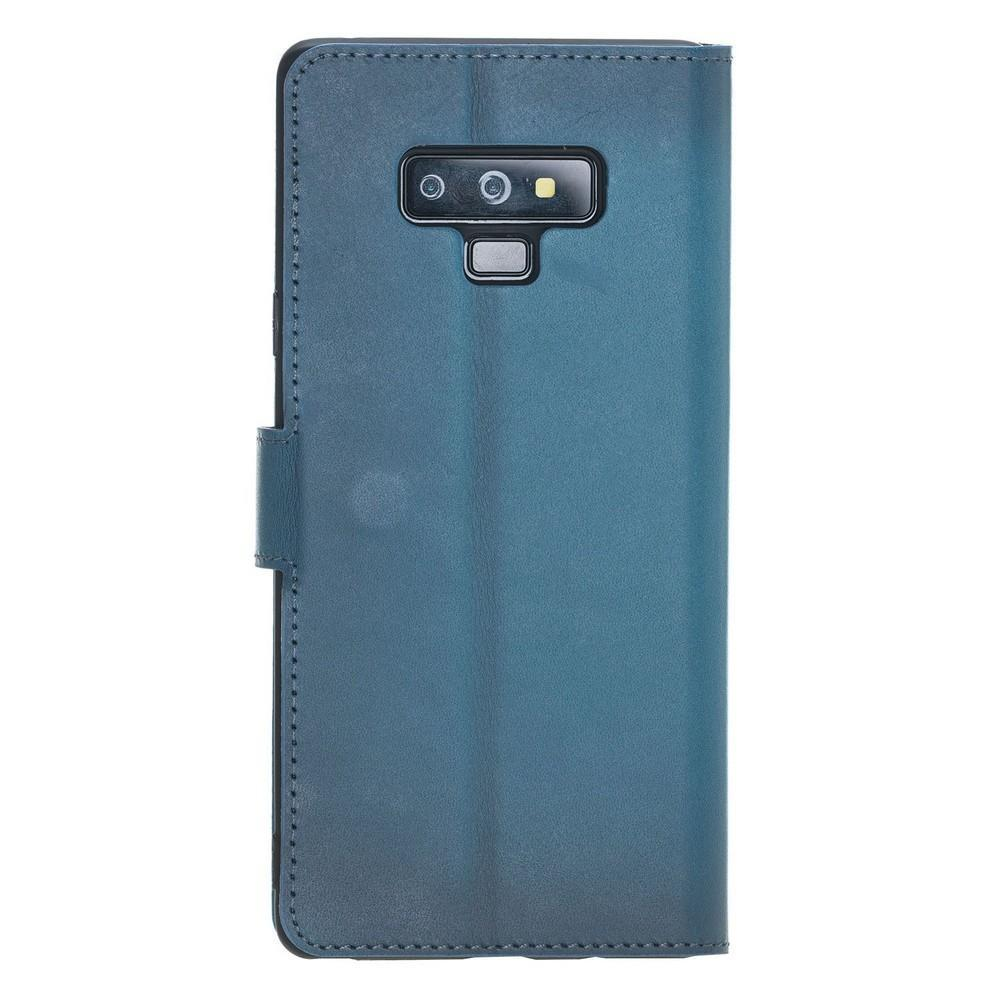 Wallet Folio Leather Case with ID slot for Samsung Galaxy Note 9