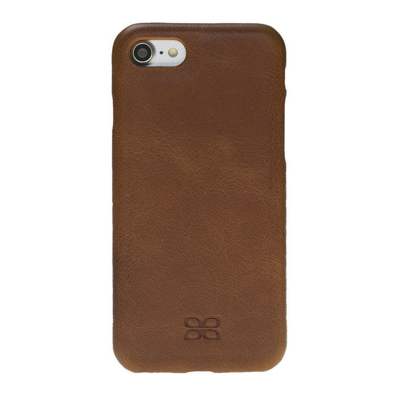 Leather Ultra Cover Snap on Back Cover for Apple iPhone 7 / iPhone 8