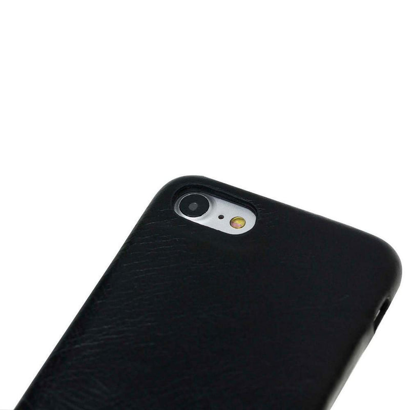 Leather Ultra Cover Snap on Back Cover for Apple iPhone 7 Plus / iPhone 8 Plus