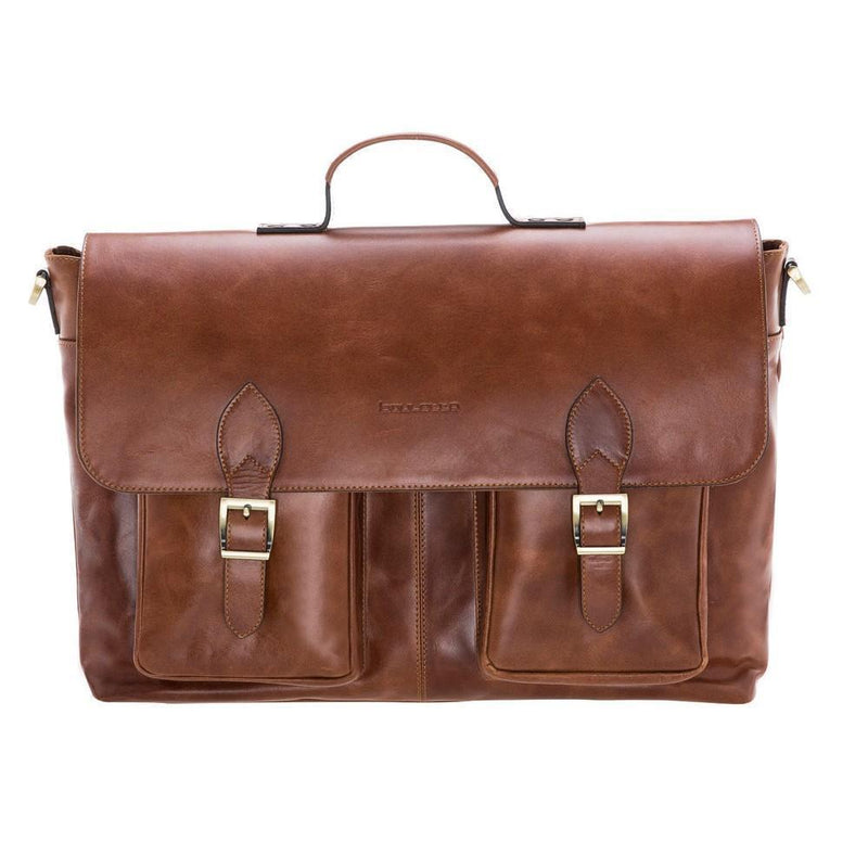 Olympus Briefcase Leather Bag 17""
