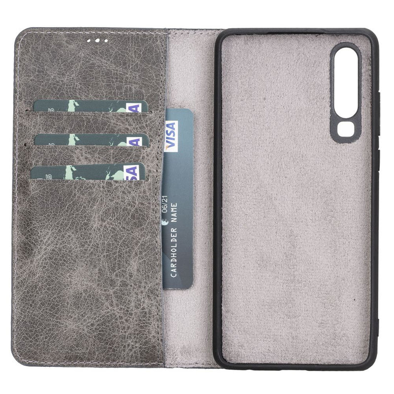 Magnetic Detachable Leather Wallet Case for Huawei P30